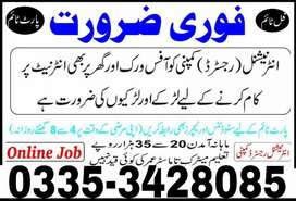 Online job for students and reachers