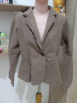 Blazer, outer , cardigan, blouse , kemeja 6pcs 100rb