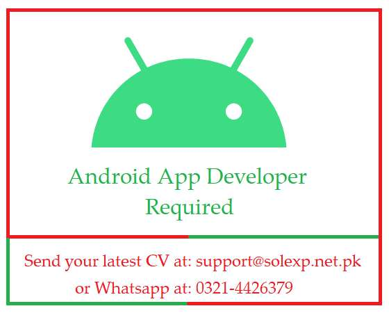 Android App Developer Required 0