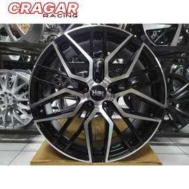pelek mobil cx5 ring 19 hsr botain warna black polish