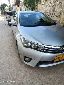 Toyota Corolla Altis 2016 Now get on easy monthly installment