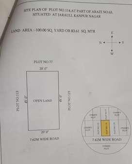 Residential plot for sale ,jarouli