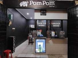 Pom pom thai tea