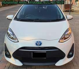 Toyota Aqua 2019 get on very easy monthly installments