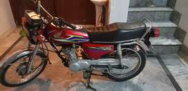 I want to sale my Honda CG 125 in Excellent condition