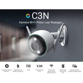 Wireless Outdoor IP Camera EZVIZ C3WN Color Night Husky Air Lite 2MP