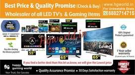 All Size Led Tvs Smart\NonSmart\4K Uhd  Gaming Item(Best Deal Promise)