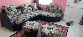 Sofa set four piece