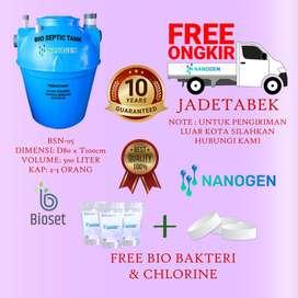 septic tank nanogen anti mampet dan berbahan tebal