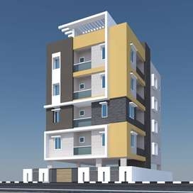 New construction 2 bhk flat for sale @ madhurawada