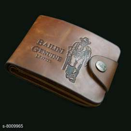 Baline leather wallet