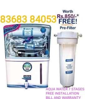 Aqua Water System 7 STAGES RO UV UF TDS wid Bill Warranty Installation