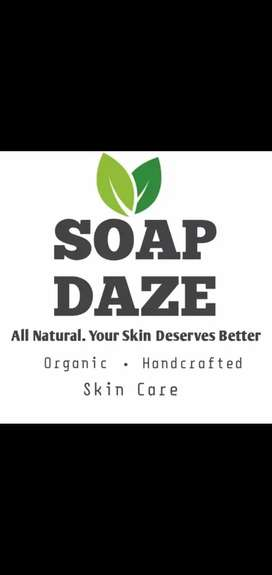 100% Organic soaps and hand made