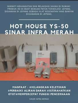 HOT HOUSE FIR YS-50 / SOQI / SINAR INFRA MERAH / SPA