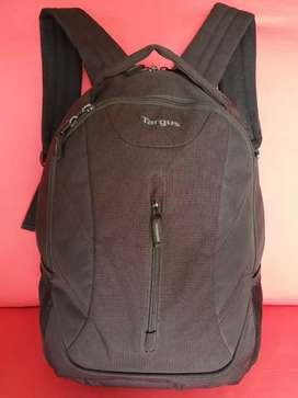 Tas import eks TARGUS backpack/ransel kanvas hitam besar