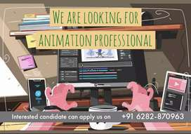 We are looking for animation professional