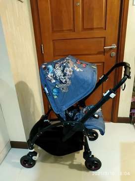 Preloved Bugaboo Be5 LIMITED EDITION ( BOTANICAL COVER )