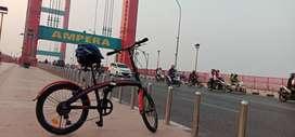Jual sepeda exotic baru pake 3 kali jual karena mau beli sepeda gunung