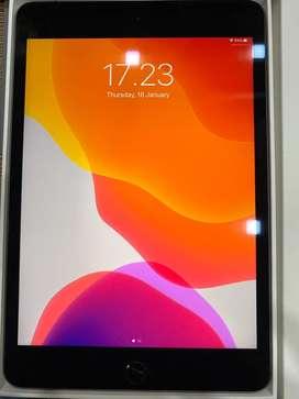 2nd ipad mini 5 wifi celluar 4G 256gb grey 99.99%