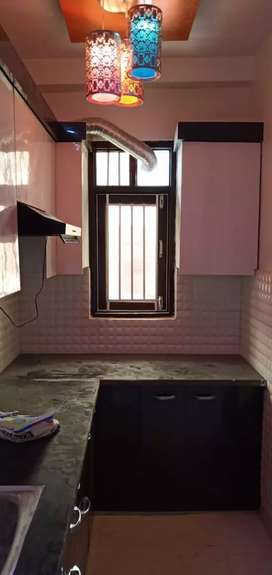 3 bhk flat in nawada metro station with semi furnished