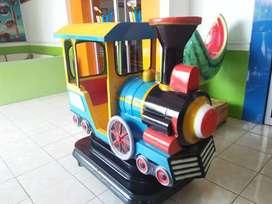 odong odong kiddie ride mainan koin AR pasir kinetik lengkap meja