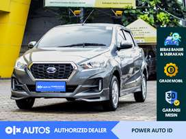 [OLX Autos] Datsun Go Panca 2019 Bensin 1.2 A/T Abu-Abu #Power Auto ID