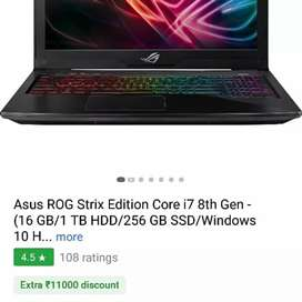 Brand New Asus * Core i7 Windows 10 Laptop  Mrp 131990 Offer *85794