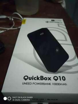 Powebank uneed quickbox 10