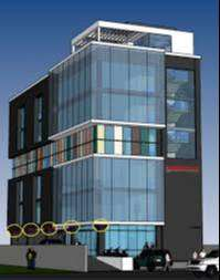 commercial approved builiding available at main 100 ft road mansarovar