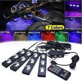 NEW Car Atmosphere Lights Star Style Remote Operated