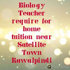 Home tuiter required subject Biology