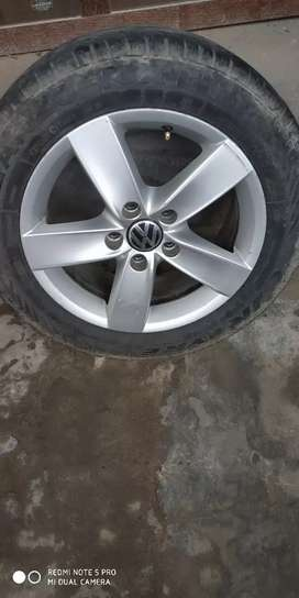 Jetta 2014 Alloy Wheels