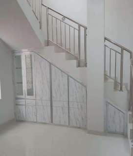 Lemari bawah tangga minimalis BL15