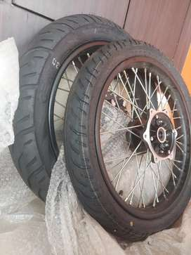 CEAT TYRES(whole unit) (Royal Enfield 350)