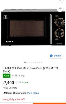 Bajaj grill microwave oven 20L