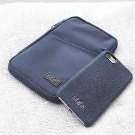 Tas Travel pouch bag Gadget Cable organizer Power Bank FlashDisk UBox