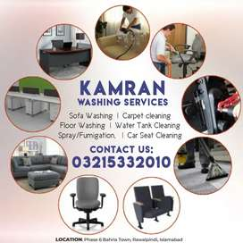 Sofa Cleaning, Carpet Cleaning, Water Tank Cleaning Services