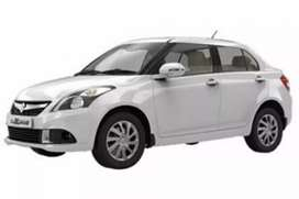 Swift dezire car available on rent