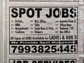 CALL US FOR A JOB