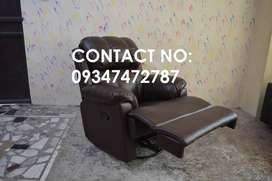 Brand new recliner with very soft cushioned seat, Luxury recliner sof