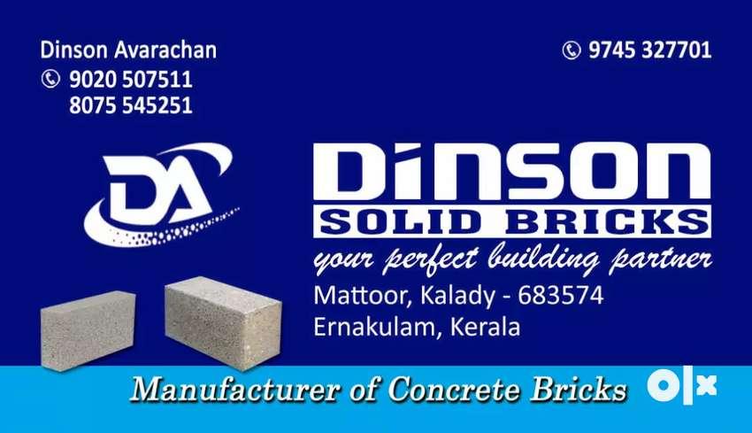 Concrete Solid Bricks 0