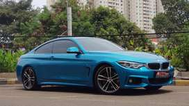 BMW F32 440i Coupe M Sport Facelift 2017 Blue Km Rendah!!!