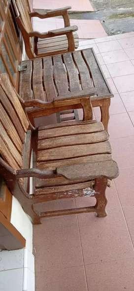 set meja kursi teras rumah