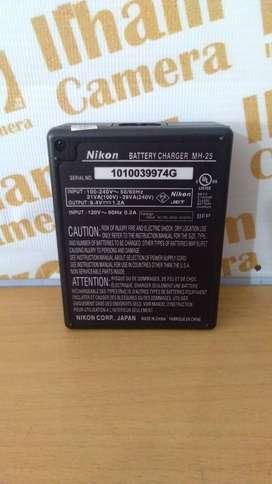 Nikon MH 25 Charger Baterai Kamera Nikon