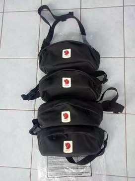 Tas selempang ( waist bag)  fjall raven ulvo medium hip pack  black