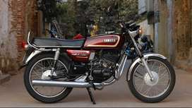 RX 135 - Completely restored with all original parts and new engine