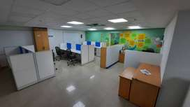 Furnished office space is available for rent  in RS Puram