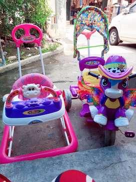 Sepeda &baby walker