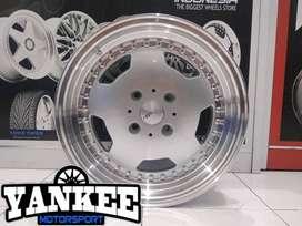 Velg Mobil Kijang LGX Avanza dll Ring 16 HSR Wheel GEOTHE H4X114,3 GMF