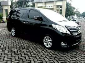 Toyota Alphard S Premier Sound 2012 At (L), Siap pk, Hitam, Istimewa